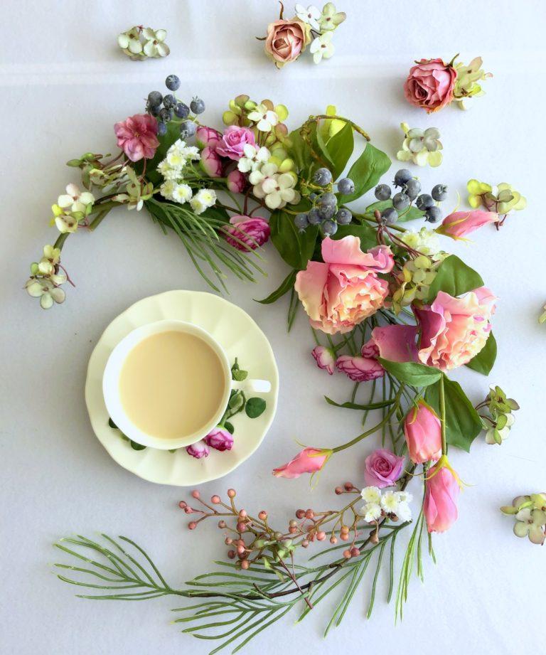花とお茶|アトリエレモンリーフ